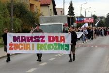 Marsz dla życia i rodziny przeszedł ulicami Skarżyska