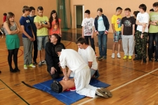 Uczniowie z Gimnazjum nr 1 obchodzili Dzień Dziecka