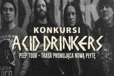 KONKURS! Wygraj bilet na koncert Acid Drinkers! – WYNIKI