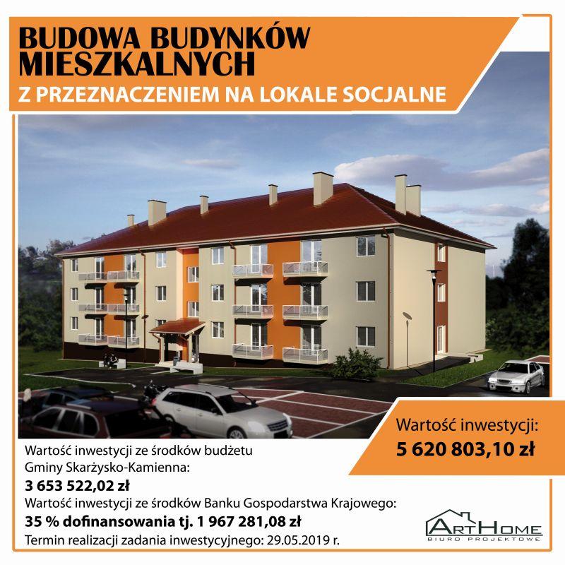 Blok socjalny Skarżysko-Kamienna