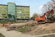 Skarżysko w budowie – otoczenie starostwa