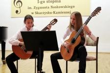 Koncert gitarowy w Państwowej Szkole Muzycznej