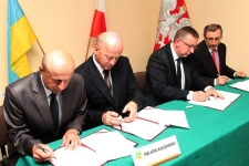 Powiat skarżyski będzie współpracował z rejonem kozowskim z Ukrainy