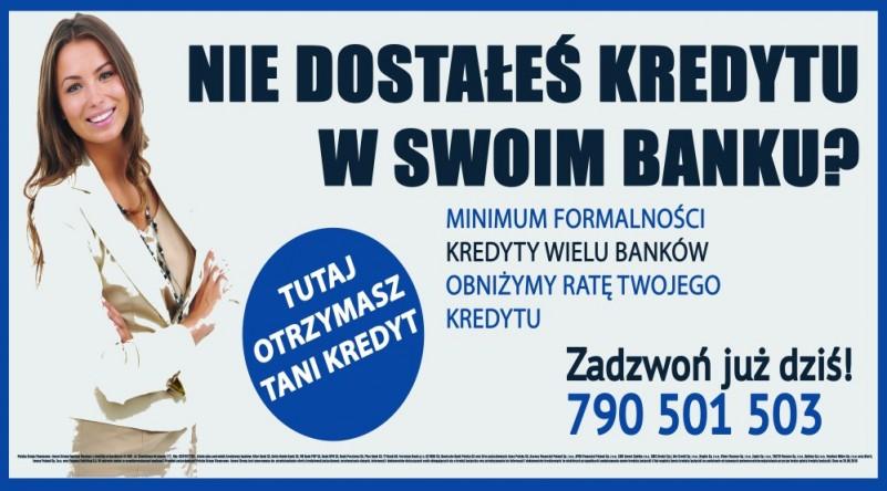Bank odmówił Ci Kredytu? Przyjdź po Naszą ofertę! Zapraszamy!