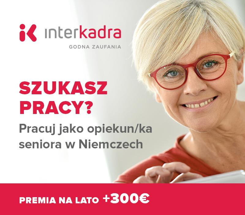 Pracuj jako opiekun/ka w Niemczech od 1200€