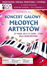 Koncert Galowy Młodych Artystów