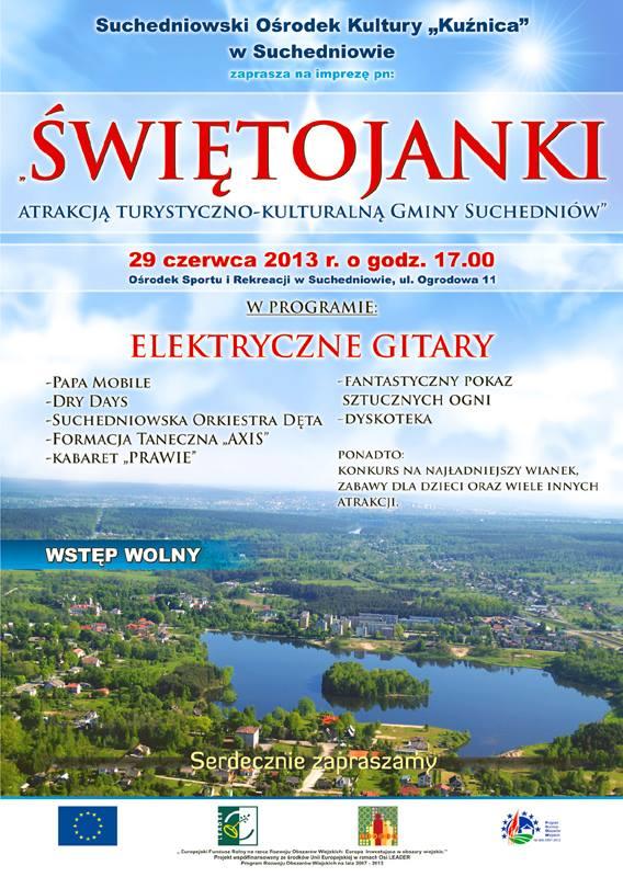 Świętojanki 2013 - Suchedniów