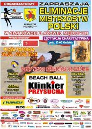 Eliminacje Mistrzostw Polski w siatkówce plażowej mężczyzn – Beach Ball Klinkier Przysucha 2015