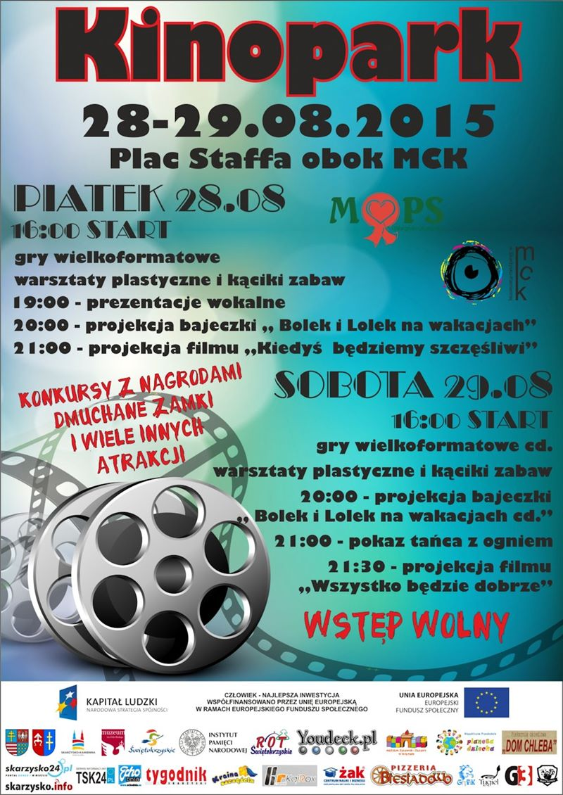 VIII Kinopark – Plac Staffa – 28-30.08.2015