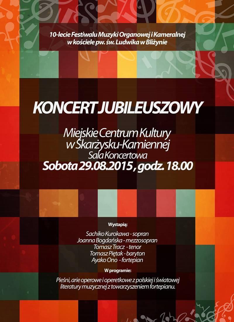 Koncert operowy jubileuszowy – MCK – 29.08.2015