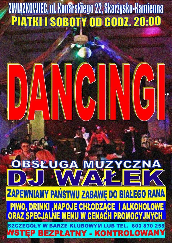 """Dancingi - Klub Kolejarzy """"Związkowiec"""""""