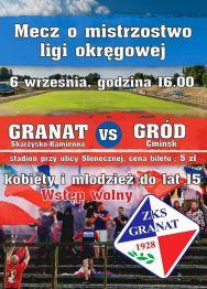 Granat Skarżysko – Gród Ćmińsk – mecz ligi okręgowej