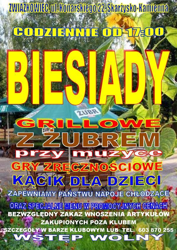 Biesiady grillowe – Klub Kolejarza Związkowiec