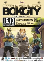 BoKoTy + Żyto + lokalny support – koncert