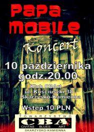 Papa Mobile – koncert