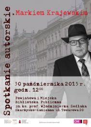 Marek Krajewski – spotkanie autorskie