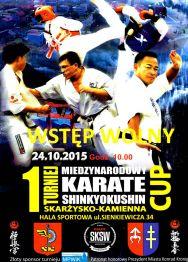 1 Międzynarodowy Turniej Karate Shinkyokushin Skarżysko-Kamienna Cup