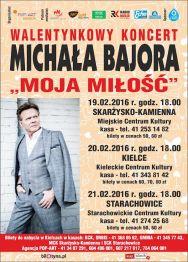 """""""Moja miłość"""" – walentynkowy koncert Michała Bajora"""