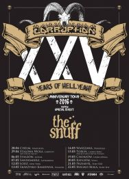 Corruption + The Snuff – XXV Years Of Hellyeah! – koncert