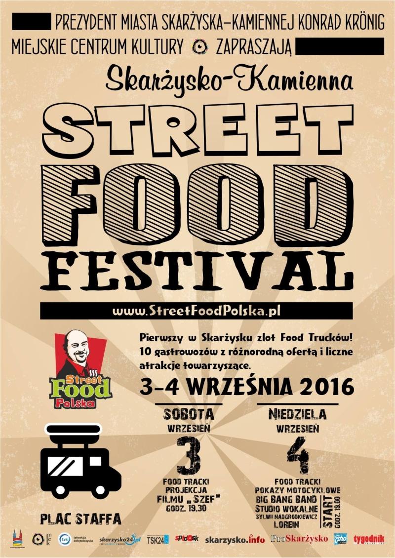 Street Food Polska Festival – Plac Staffa – 03-04.09.2016