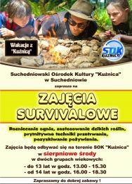 Zajęcia survivalowe