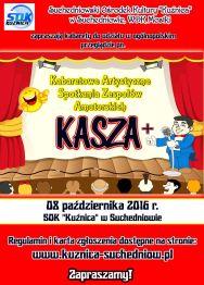 KASZA+ – Kabaretowe Artystyczne Spotkania Zespołów Amatorskich