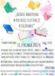 """""""Baśnie Andersena w polskiej ilustracji książkowej""""  – wystawa"""