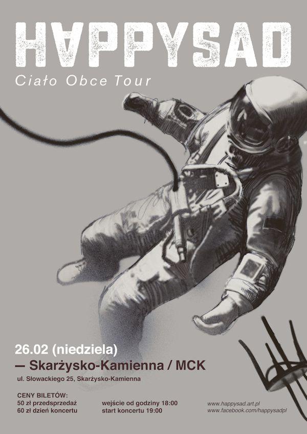 HAPPYSAD – koncert – MCK – 26.02.2017