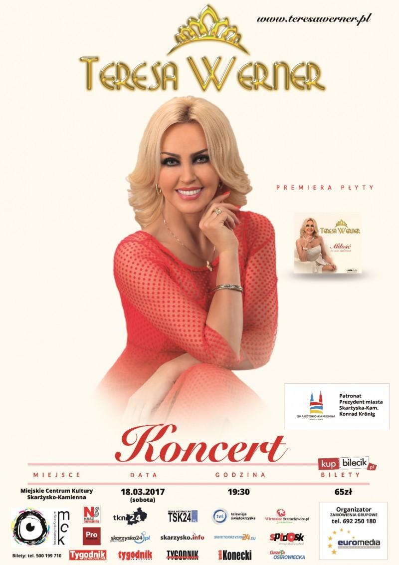 Koncert Teresy Werner – MCK – 18.03.2017