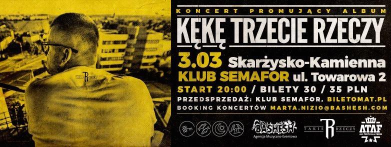 KęKę – TrzecieRzeczyTour2017 – Klub Semafor – 03.03.2017