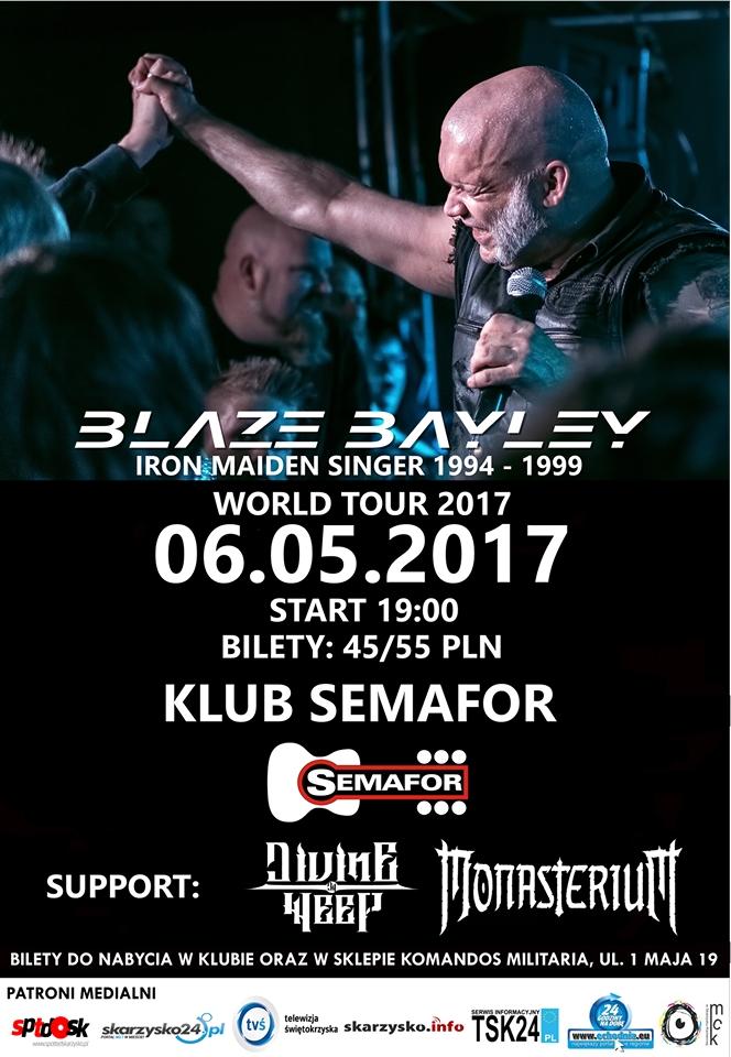 Blaze Bayley – koncert – Klub Semafor – 06.05.2017