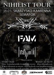 Pandemonium + FAM + Hellspawn – koncert