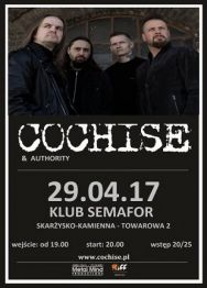 Cochise + Authority – koncert