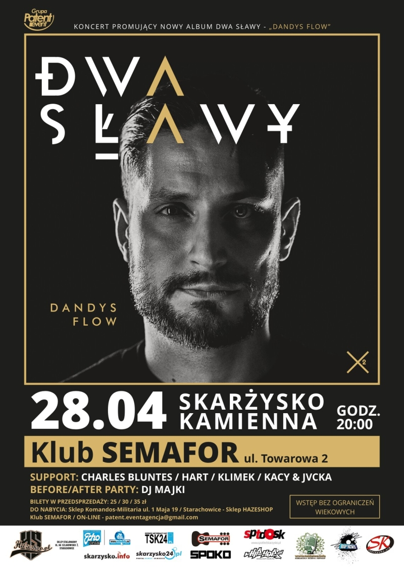 Dwa Sławy – Klub Semafor – 28.04.2017