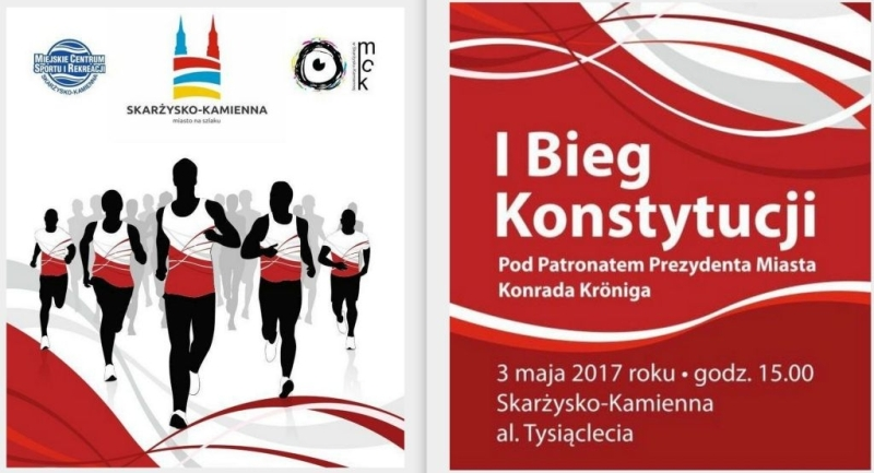 I Bieg Konstytucji w Skarżysku-Kamiennej – 03.05.2017 r.