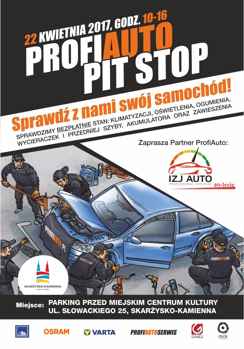PitStop w Skarżysku – za darmo sprawdzisz stan swojego auta – parking przy MCK – 22.04.2017 r.