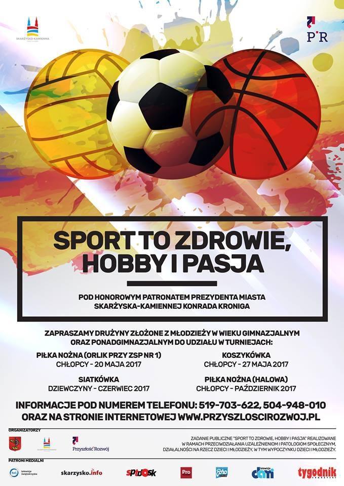 Sport to zdrowie, hobby i pasja – Boiska przy ZSP 1 – 20.05.2017