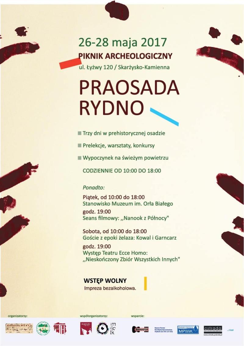 Piknik Archeologiczny Praosada Rydno 2017 – 26-28.05.2017