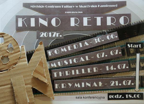 KINO RETRO 2017 – KRYMINAŁ – MCK – 21.07.2017