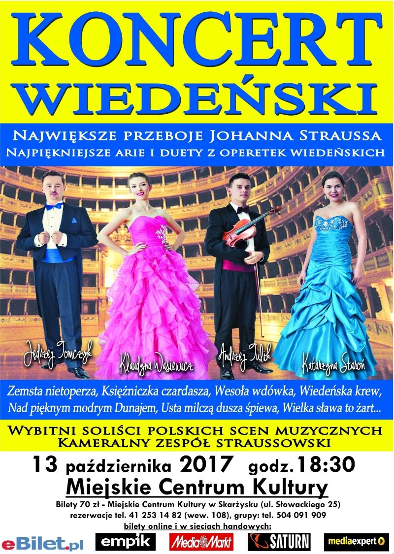 Koncert Wiedeński – MCK – 13.10.2017