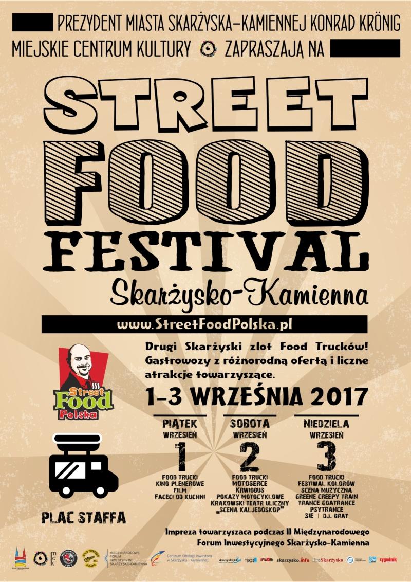 Street Food Festival – Plac Staffa – 01-03.09.2017