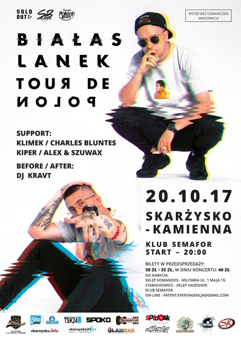 Białas x Lanek – Tour de Polon – Klub Semafor – 20.10.2017