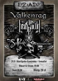 Valkenrag + Hellspawn + Soul Plunder + Reborn of Scars  – koncert