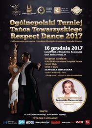 Ogólnopolski Turniej Tańca Towarzyskiego Respect Dance 2017