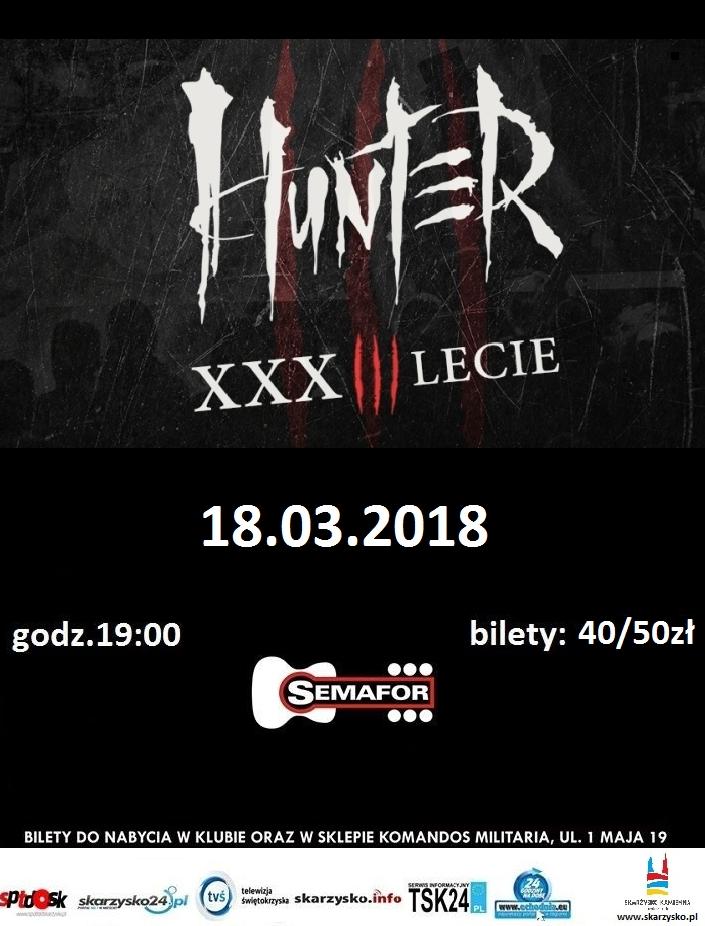 Hunter – Klub Semafor – 18.03.2018