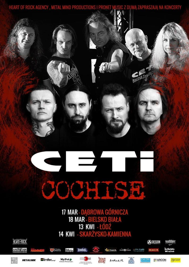 Ceti & Cochise – Klub Semafor – 14.04.2018