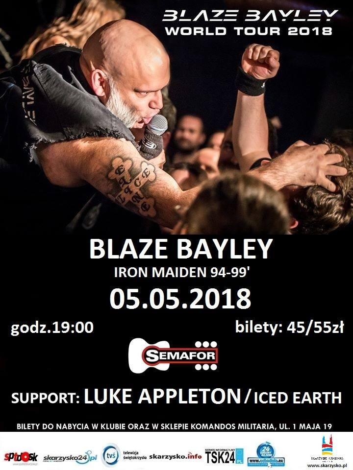 Blaze Bayley – Klub Semafor – 05.05.2018