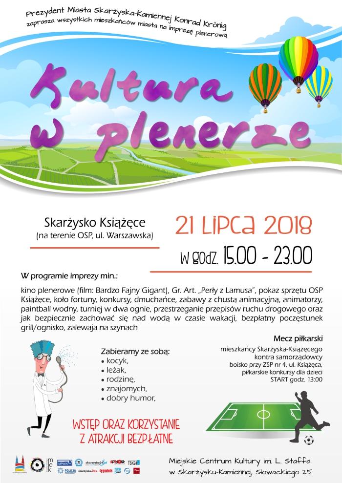 Kultura w plenerze – Skarżysko Książęce – 21.07.2018