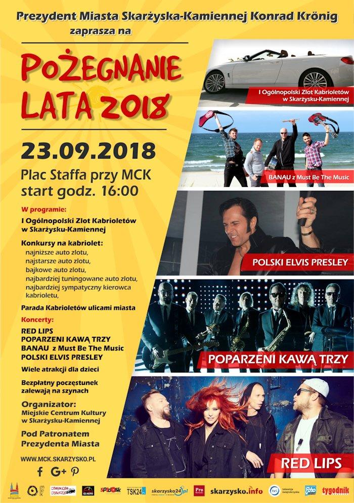 Pożegnanie Lata 2018 – Plac Staffa przy MCK – 23.09.2018