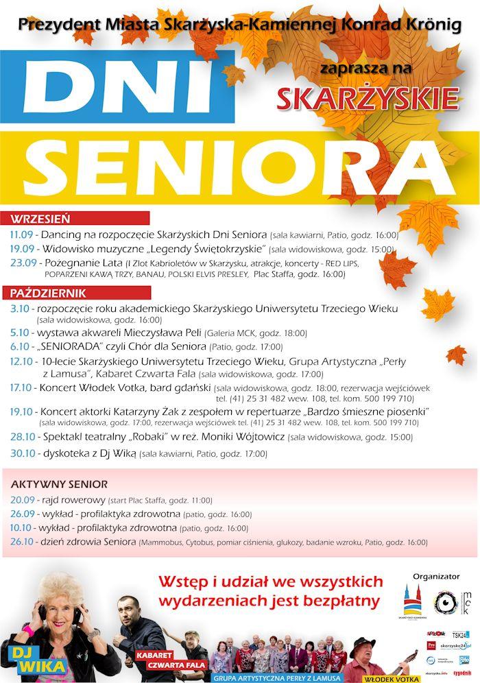 Skarżyskie Dni Seniora – 09-10.2018